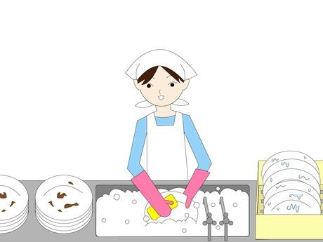 週2日~OK!【食器洗浄スタッフ】として力を貸してください。